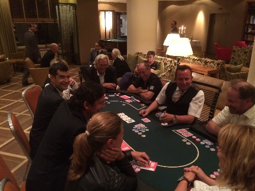 Pokerabend im Kulm Hotel in Arosa